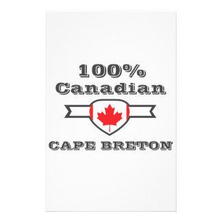 100% Cape Breton Customised Stationery