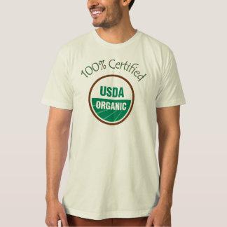 100% Certified USDA Organic T Shirts
