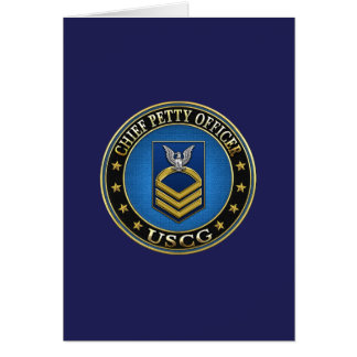 [100] CG: Chief Petty Officer (CPO) Greeting Card