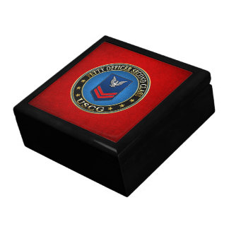 100 CG Petty Officer Second Class PO2 Jewelry Boxes