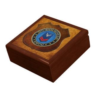 100 CG Petty Officer Second Class PO2 Jewelry Box