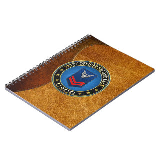 100 CG Petty Officer Second Class PO2 Notebook