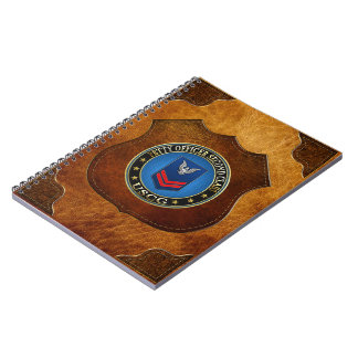 100 CG Petty Officer Second Class PO2 Spiral Note Book