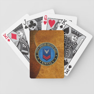 100 CG Petty Officer Second Class PO2 Bicycle Poker Cards