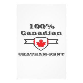 100% Chatham-Kent Customized Stationery