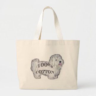 100% Cotton Large Tote Bag