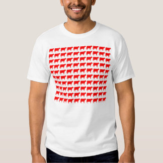 100 Cows - Red Shirts
