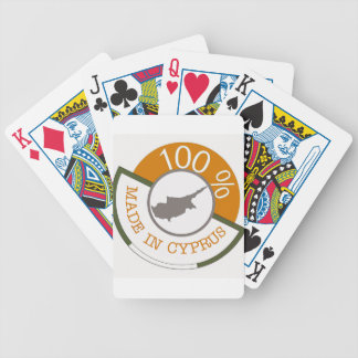 100% Cypriot! Bicycle Playing Cards