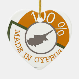 100% Cypriot! Christmas Ornament
