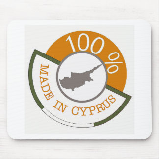 100% Cypriot! Mouse Mat