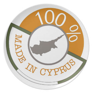100% Cypriot! Plate