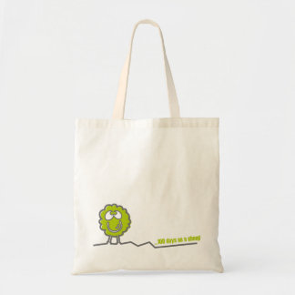 100 days like a sheep or 1 day as a lion? tote bag
