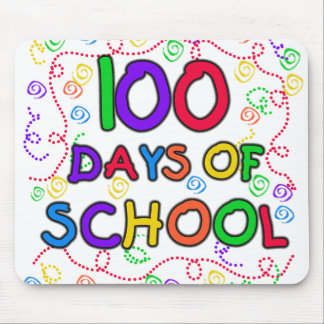 100 Days of School Confetti Mouse Pad