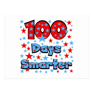 100 Days Smarter Postcards
