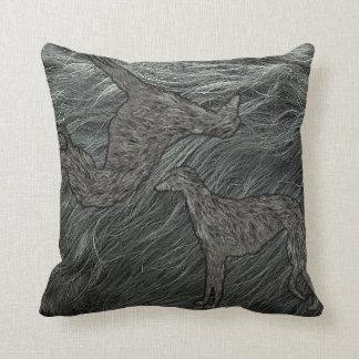 100% deerhound! cushion