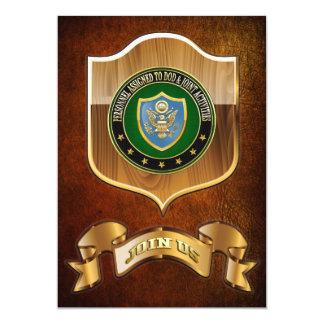 [100] DOD & Joint Activities CSIB Special Edition 13 Cm X 18 Cm Invitation Card