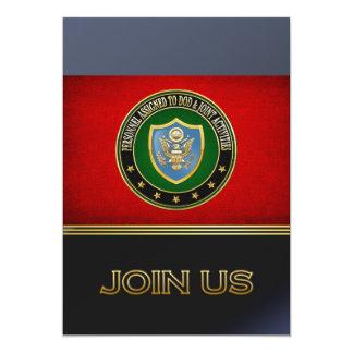 [100] DOD & Joint Activities CSIB Special Edition Custom Invite