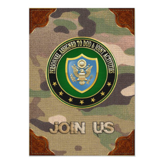 [100] DOD & Joint Activities CSIB Special Edition Cards