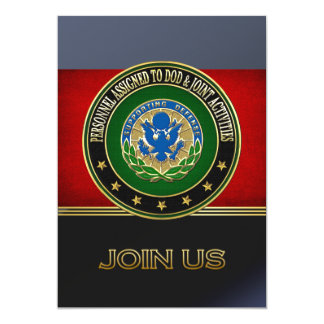 [100] DOD & Joint Activities DUI Special Edition Invitation