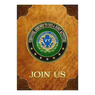 [100] DOD & Joint Activities DUI Special Edition Personalized Announcements