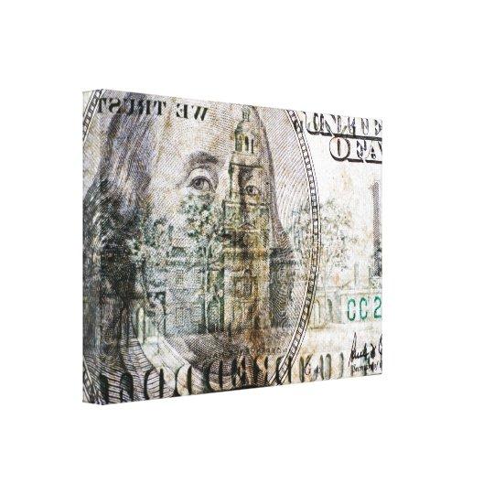 100 Dollar Bill (3) Canvas Print