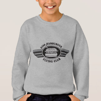 100 Dollar Hamburger - Flying Club Sweatshirt