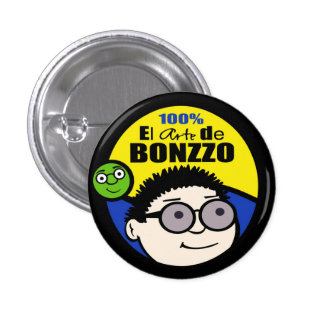100% el Arte De BONZZOExclusive Button.jpg 3 Cm Round Badge