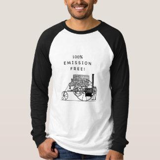 100% Emission Free! Tee Shirts