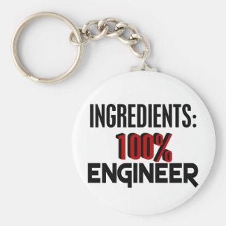 100% Engineer Key Ring