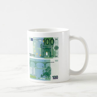 100 Euro Banknote Mug