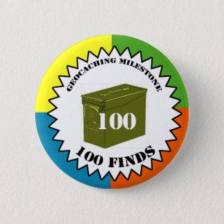 100 Finds Milestone Button