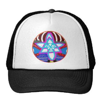 100 Flower Chakra n Chokuray Prints Hats