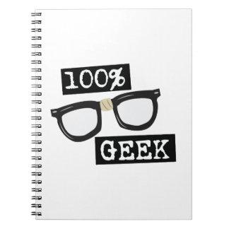 100% Geek Notebooks