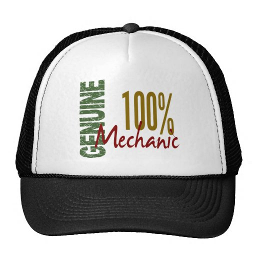 100% Genuine MECHANIC Hat