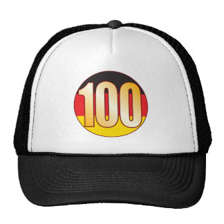 100 GERMANY Gold Cap