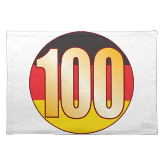 100 GERMANY Gold Placemat