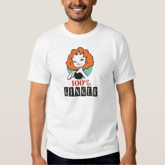 100% Ginger Shirts