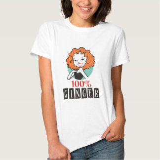 100% Ginger T-shirts
