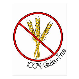 100 Gluten Free Postcards