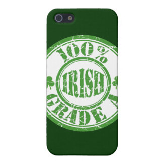 100% GRADE A IRISH Stamp  Cover For iPhone 5