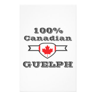 100% Guelph Personalised Stationery
