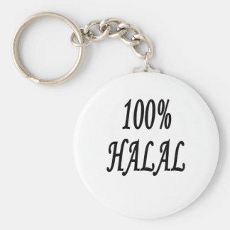 100% HALAL KEY RING