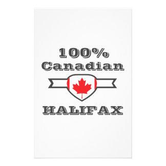 100% Halifax Personalized Stationery