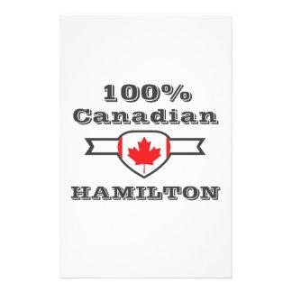 100% Hamilton Personalized Stationery