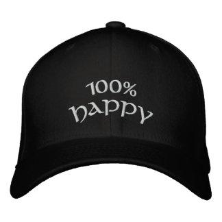 100% Happy Baseball Cap