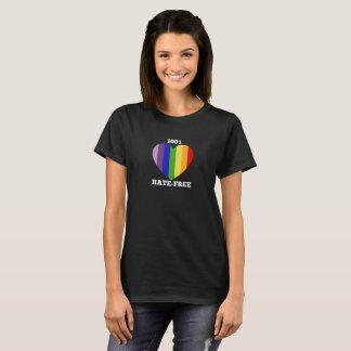 100% Hate-Free T-shirt - women's dark