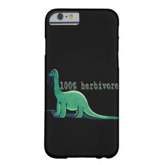 100% Herbivore vegan dinosaur phone case