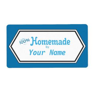 100% Homemade Food Label