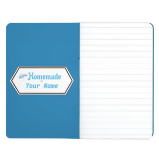 100% Homemade Food Label Journal