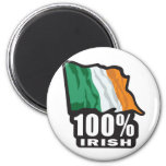 100%-IRISH FRIDGE MAGNETS